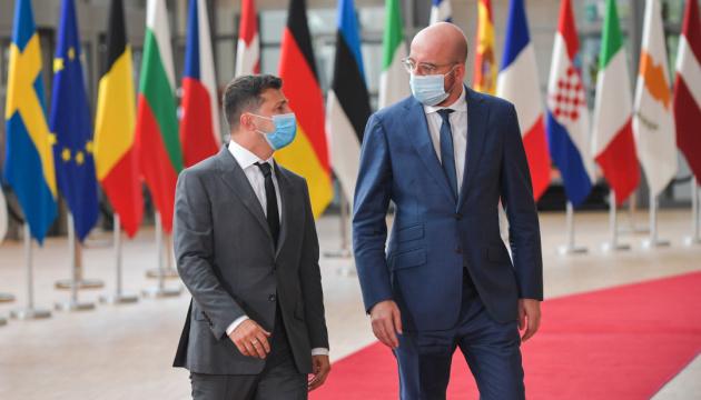 Szczyt w Brukseli to wyraźny sygnał pogłębienia stosunków UE z Ukrainą - przewodniczący Rady Europejskiej