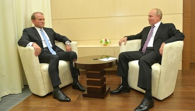 Medwedczuk spotkał się z Putinem i poprosił o zniesienie sankcji z kilku ukraińskich firm