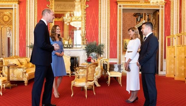Spotkanie Oleny i Wołodymyra Zełenskich z księciem i księżną Cambridge odbyło się w ciepłej atmosferze – Mendel