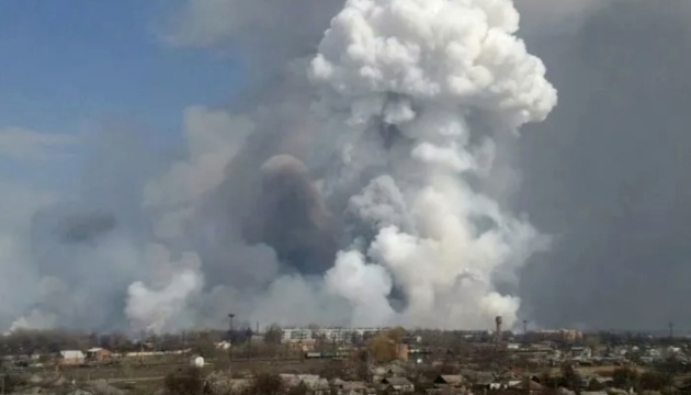 Russland: Explosionen bei Brand in Munitionsdepot in Region Rjasan