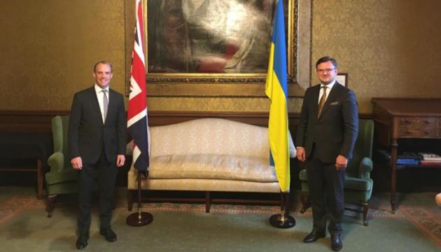 Кулеба запросив Британію приєднатися до Кримської платформи