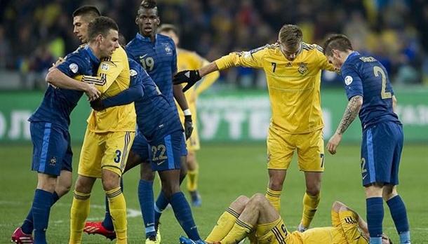 Ukraine verliert Länderspiel gegen Frankreich 1:7