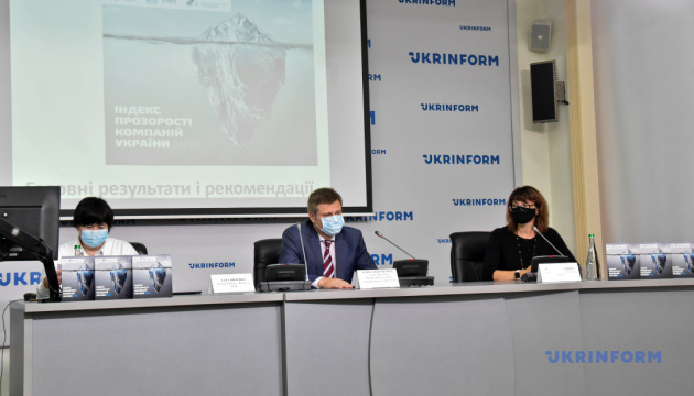 Презентация Индекса прозрачности компаний в Украине - 2019