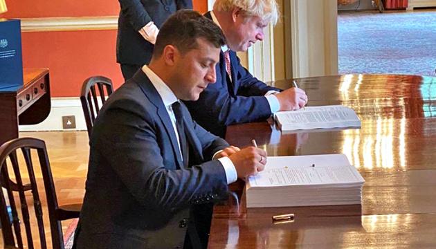 Kuleba: Ukraine, UK sign partnership and trade agreement