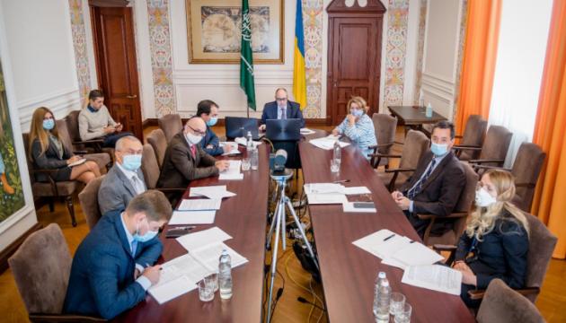 Außenministerien der Ukraine und Saudi-Arabiens nehmen politische Konsultationen wieder auf