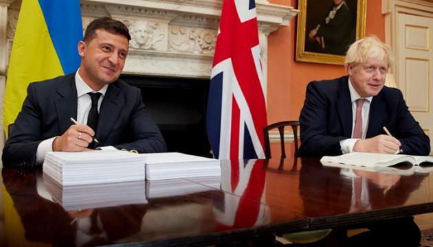 ウクライナと英国、自由貿易・戦略的パートナーシップ協定を締結=大統領府