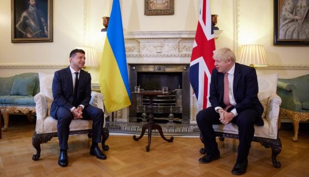 President Zelensky, UK PM Johnson discuss situation in Donbas, coronavirus, trade