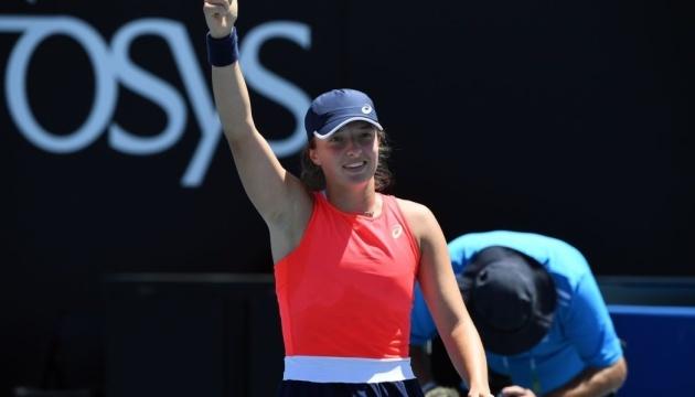 Польська тенісистка Іга Свентек виграла