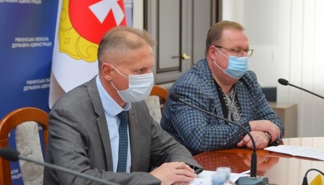 На Рівненщині готують три додаткові лікарні для прийому хворих на COVID-19