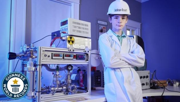 Школяр зі Штатів потрапив до Книги рекордів Гіннеса, зібравши вдома термоядерний реактор