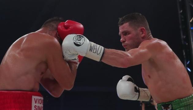 Berinchyk derrota a Simion por nocaut técnico
