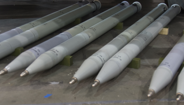 Ukraine test-fires RS-80 unguided rockets