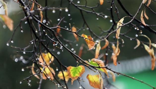В Украину идет похолодание, местами - дожди с мокрым снегом