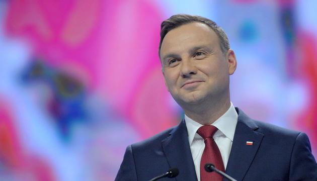 Polish President Duda to visit Ukraine next week
