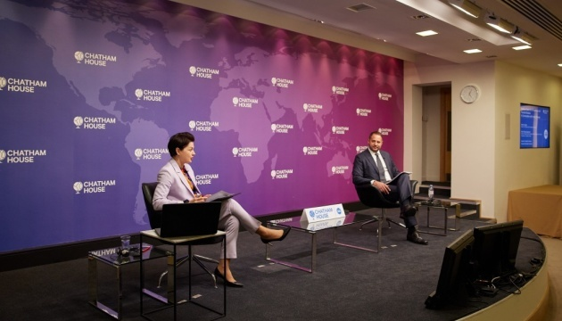 Ukraine using all possible negotiating platforms to end war in Donbas - Yermak