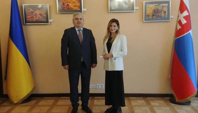 Україна сподівається, що Словаччина приєднається до «Кримської платформи» - Джапарова
