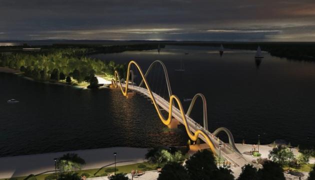 У Києві починають будувати новий пішохідний міст