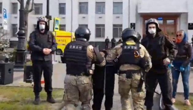 У Хабаровську ОМОН розігнав мітинг на підтримку Фургала, десятки затриманих