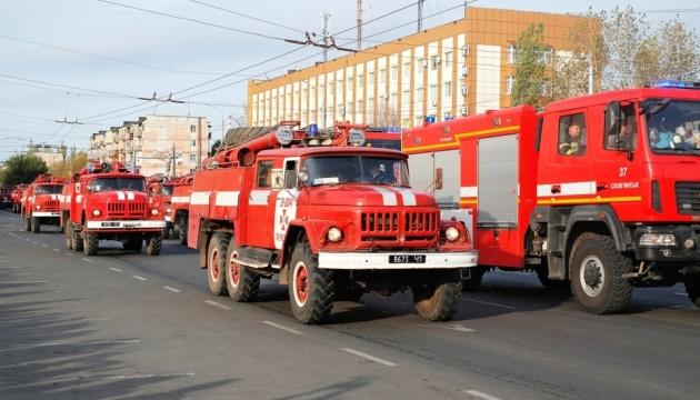ДСНС відвела підрозділи з інших областей, які гасили пожежі на Луганщині
