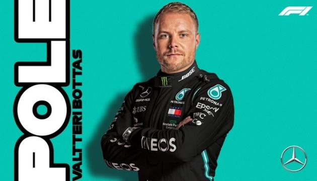 Формула-1: Боттас виграв кваліфікацію Гран-прі Айфеля