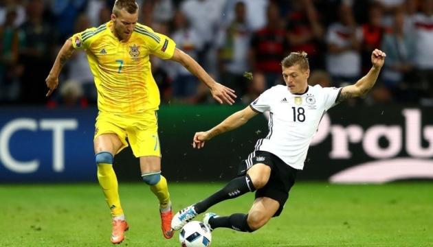 Букмекери дали прогноз на матч Ліги націй Німеччина - Україна