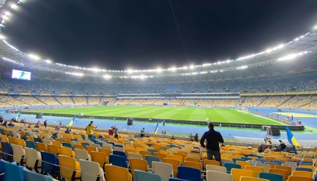 Все билеты на матч Украина - Германия проданы