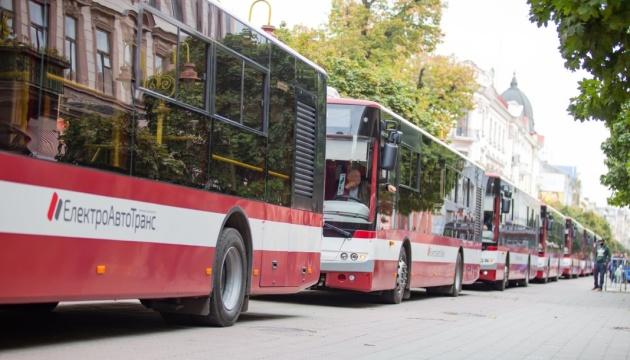 У Франківську встановили рекорд України з «перетягування автобусів» - попри карантин