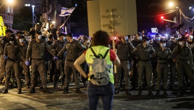 В Ізраїлі тривають протести проти Нетаньягу – шістнадцяту суботу поспіль