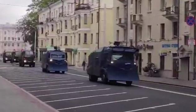 Влада Білорусі «готується» до Маршу гордості: до Мінська їде спецтехніка з кулеметами