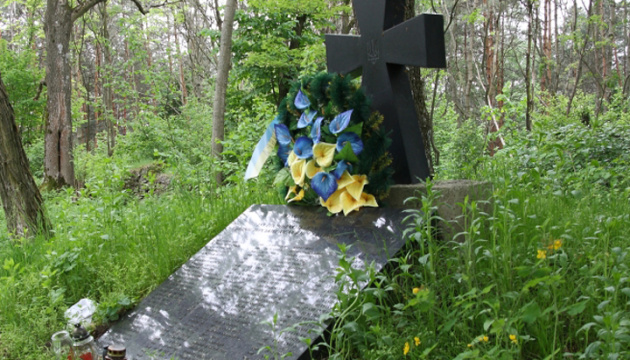 У Польщі на зруйнованій могилі вояків УПА встановили плиту з новими написами