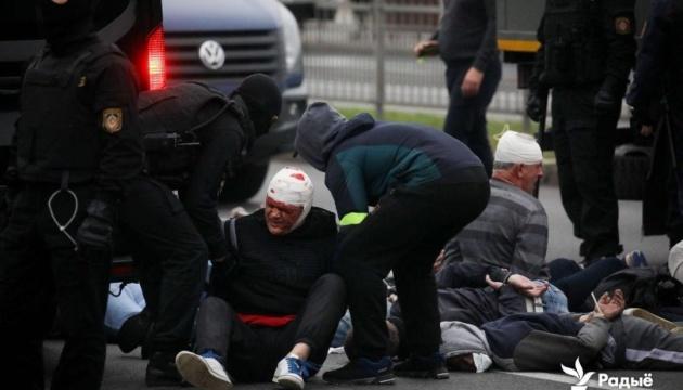 Майже 600 осіб затримали під час протестів у Мінську