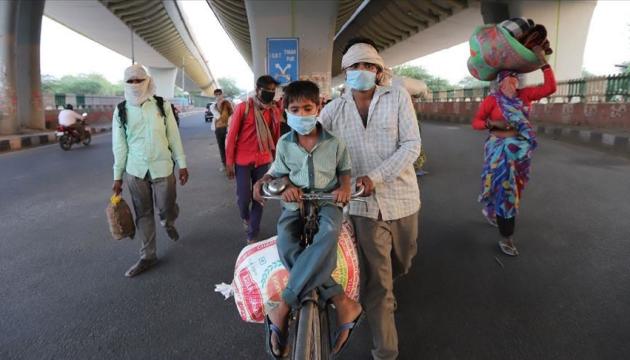 В Індії за добу – понад 74 тисячі заражень коронавірусом