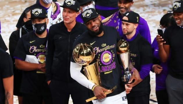Леброн Джеймс - лучший игрок финала НБА
