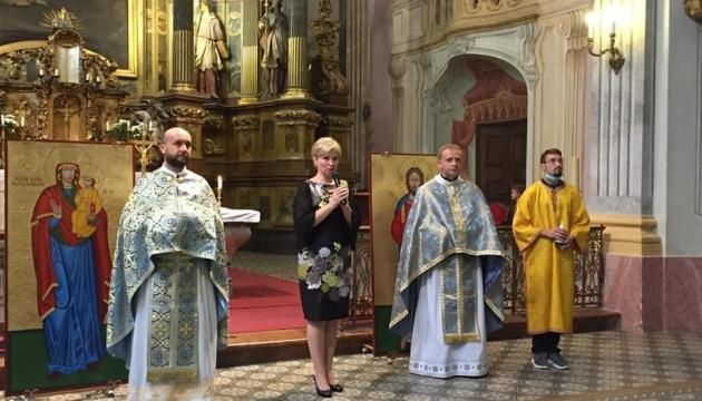 В Будапешті відзначили 5-річчя української парафії та День захисника України