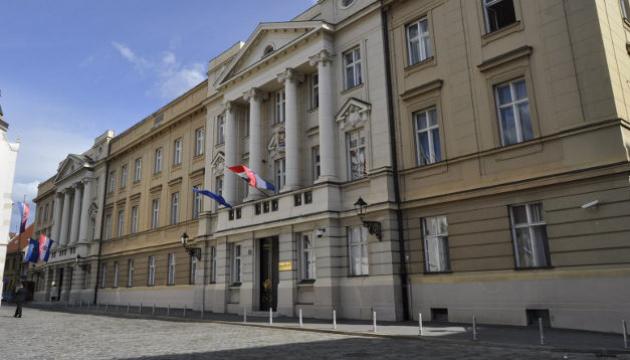 У парламента Хорватии произошла стрельба, ранили полицейского