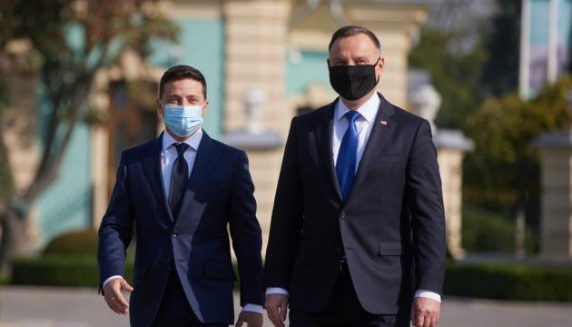 ウクライナ・ポーランド両国大統領、共同声明を発出