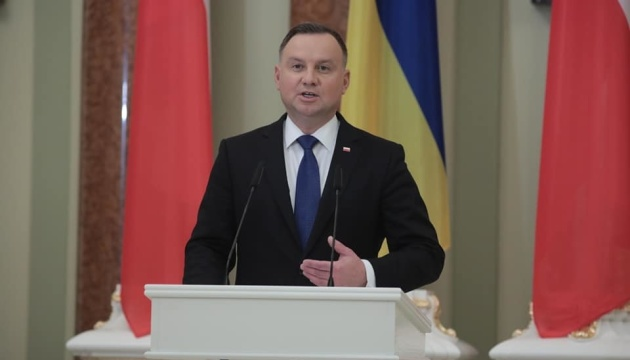 Дуда приедет на саммит Крымской платформы и 30-летие Независимости - МИД