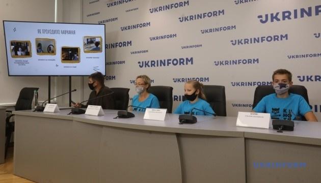 В Укрінформі презентували кіноальманах, знятий дітьми з порушеннями слуху