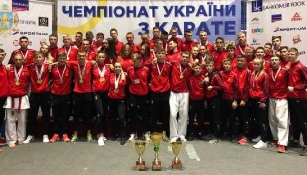 Збірна Львівщини – переможець чемпіонату України з карате