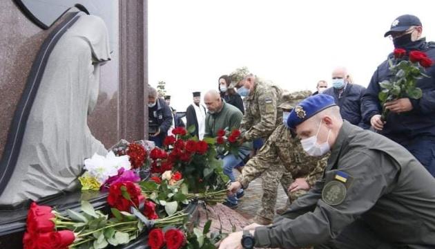 В Днипре отдали дань памяти погибшим воинам АТО/ООС