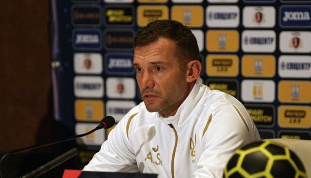 Шевченко ожидает результаты тестов и до сих пор не знает, кто будет играть со Швейцарией