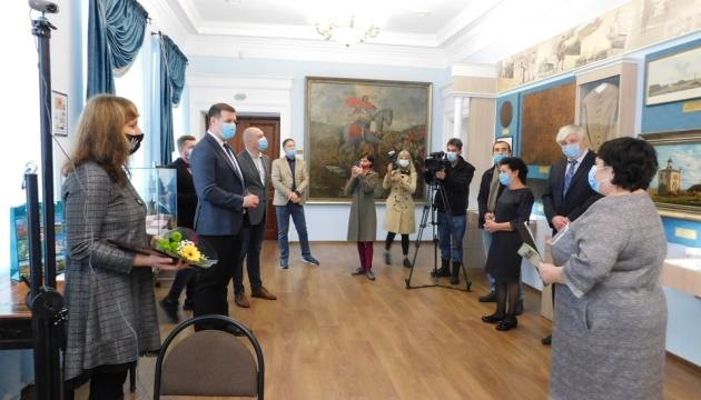 Музей истории Полтавской битвы представил зала «На весах времени»
