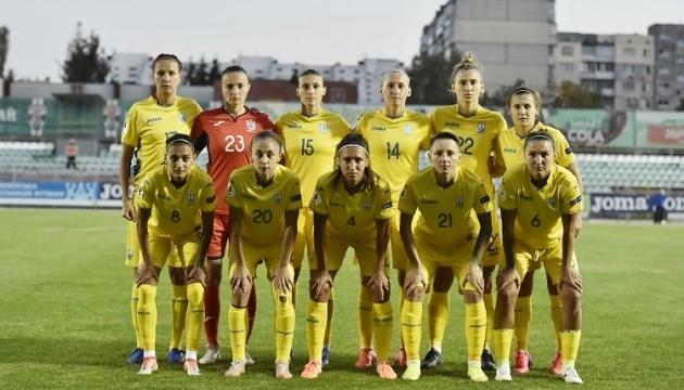 Стал известен состав женской сборной Украины по футболу на игры отбора