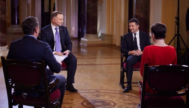 Duda: Welt muss verlangen, dass Russland besetzte ukrainische Gebiete verlässt