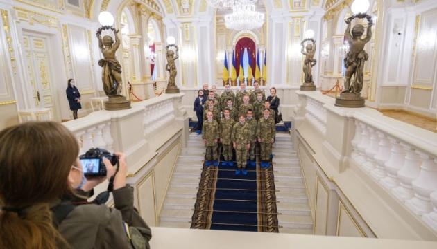 Для воспитанников лицея имени Богуна провели экскурсии в Мариинском дворце