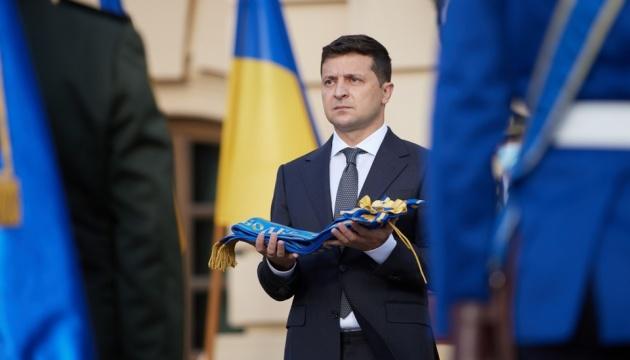 「ドンバスの停戦は80日続いている」=ゼレンシキー大統領、ウクライナ防衛者の日に演説