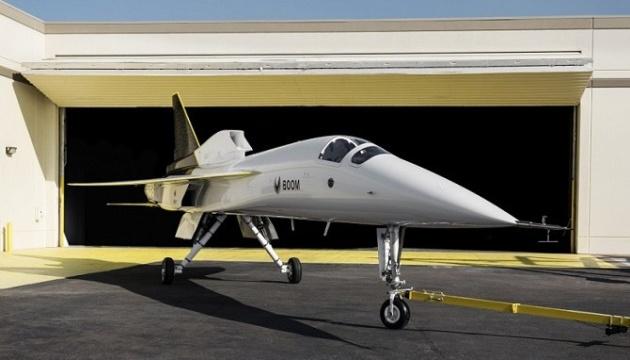 Boom Supersonic представила прототип сверхзвукового самолета