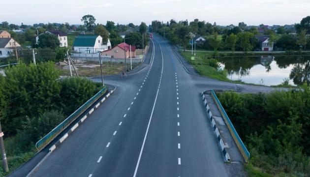 На Тернопольщине в этом году планируют завершить ремонт 162 километров дорог