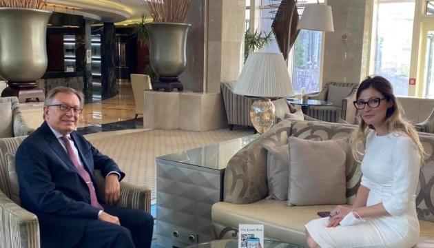 Dzhaparova: Ucrania aboga por la presencia permanente de la OTAN en el Mar Negro