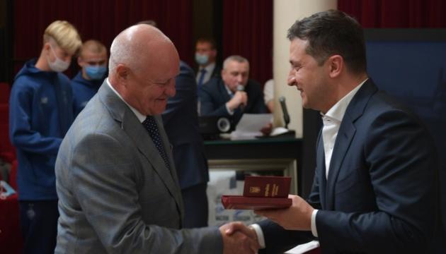 Зеленский встретился с ветеранами киевского «Динамо»